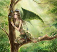 Faery Tree Spirit Energies